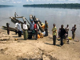 Evangelising by dugout canoes on the Congo River