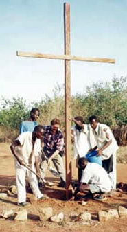 Planting the Cross of Christ on new ground