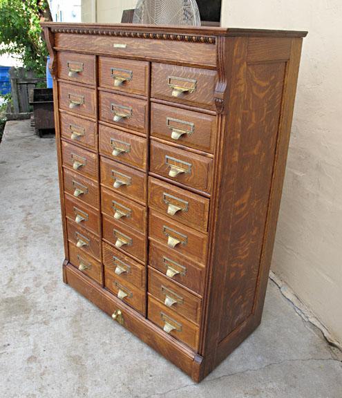 Yawman and Erbe File Cabinet