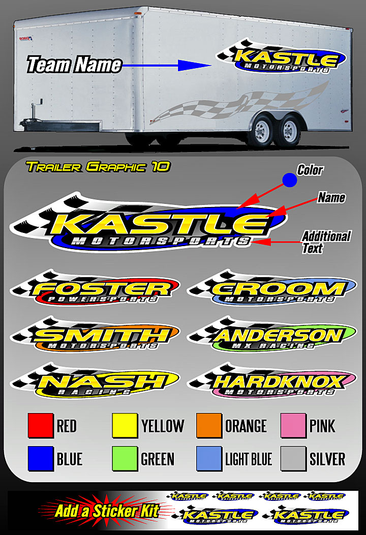Cage Graphix Race Car Graphics Race Car Numbers Team Name