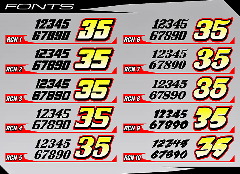 Cage Graphix Race Car Graphics Race Car Numbers Wrap